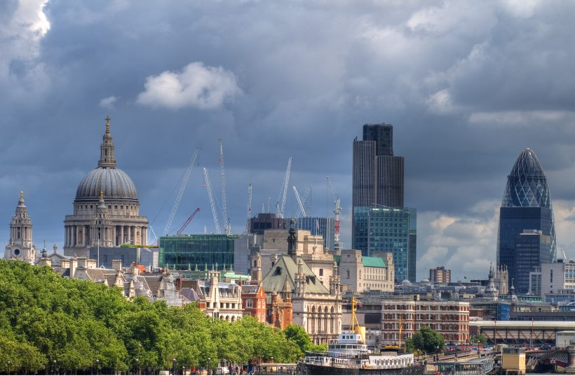 """City of London Skyline"" photo by dawarwickphotography (some rights reserved)"