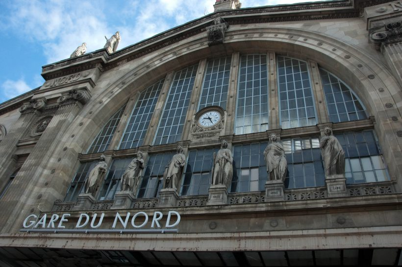 """Gare Du Nord"" photo by Franklin Hunting"