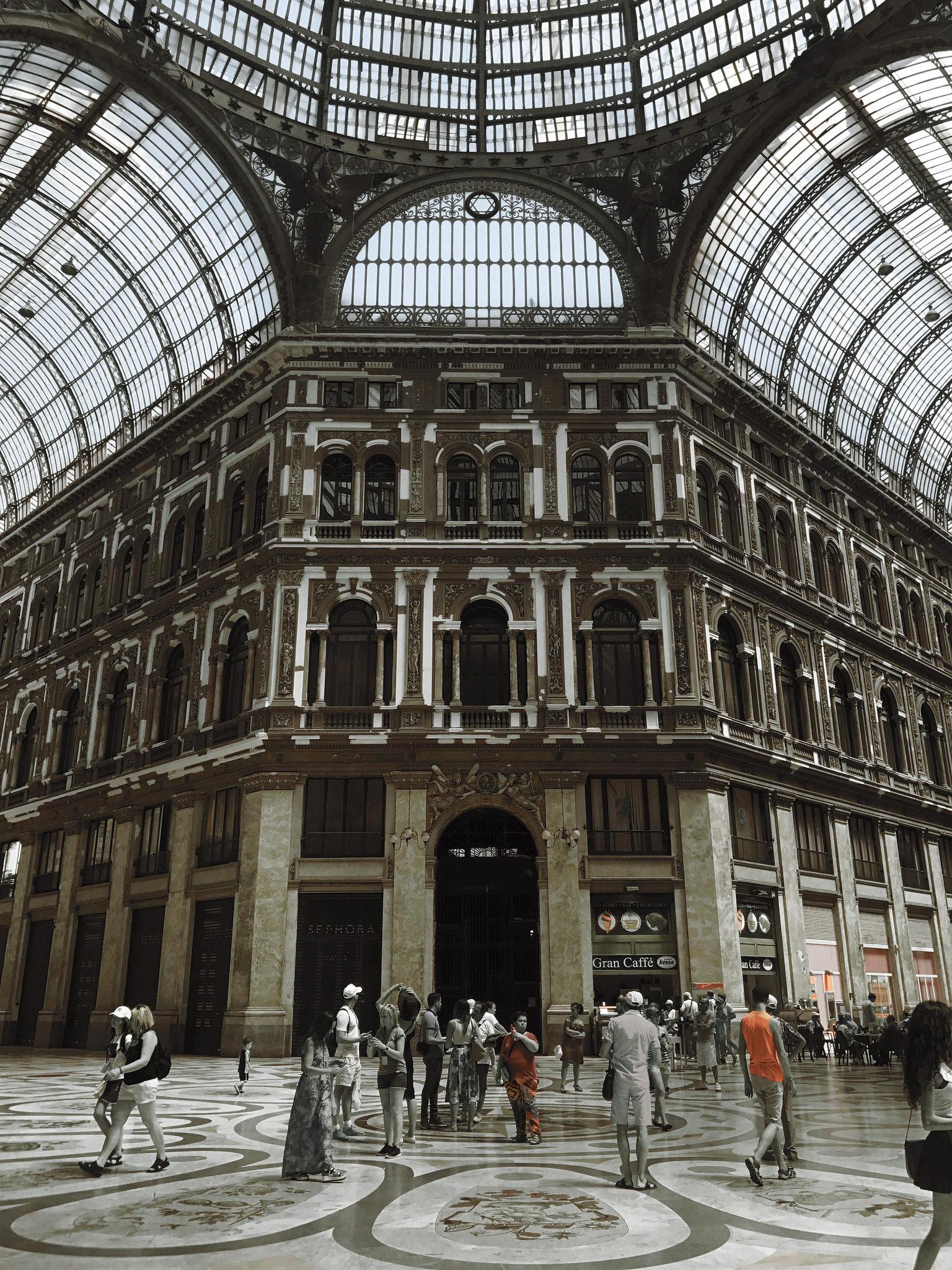 """""""Galleria Umberto I"""" photo by Casey Hugelfink"""