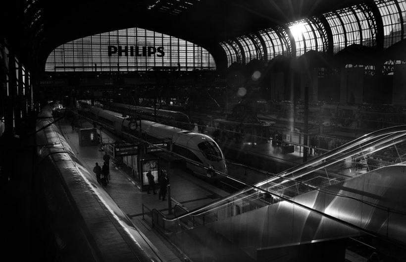 """""""Hamburg Hbf"""" photo by Carlos Andrés Reyes"""