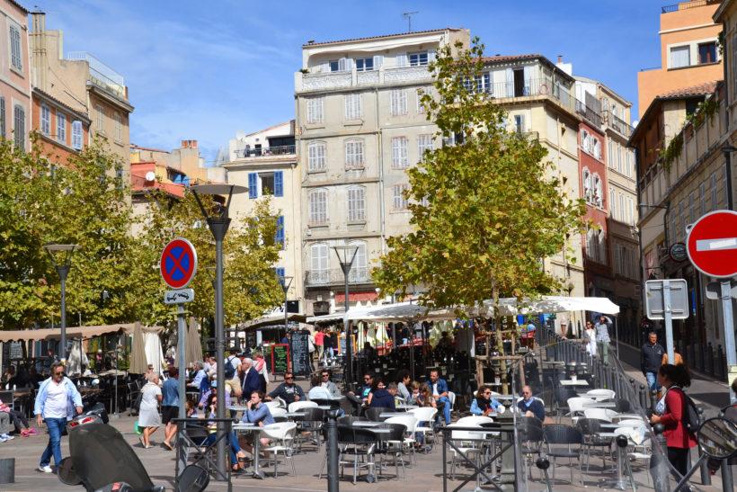 """""""Marseille, place de Lenche"""" photo by Jeanne Menjoulet"""