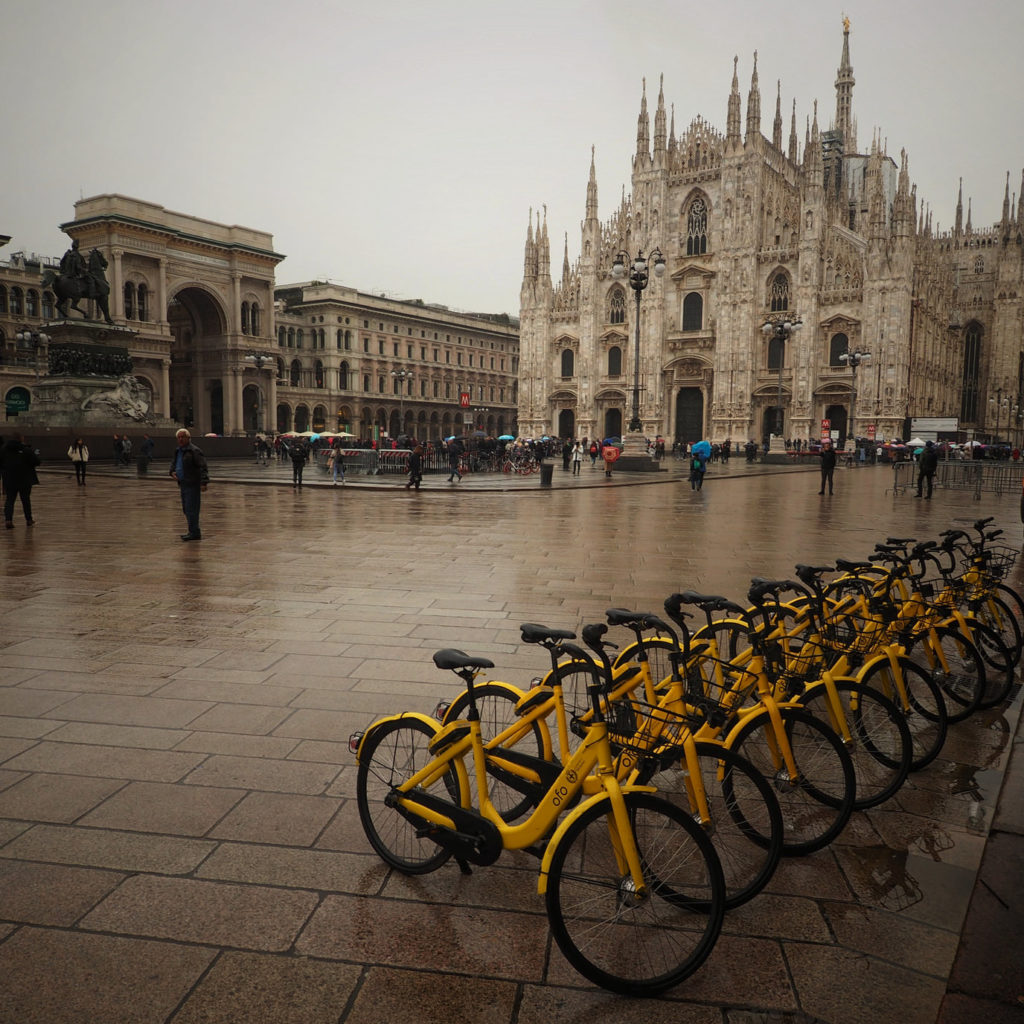 """Piazza del Duomo, Milano"" photo by Stefan Jurca (some rights reserved)"
