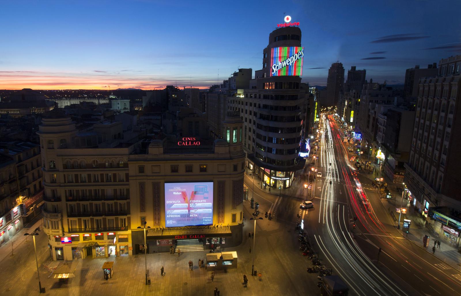 """""""Plaza de Callao (Madrid)"""" photo by Enrique Gómez"""