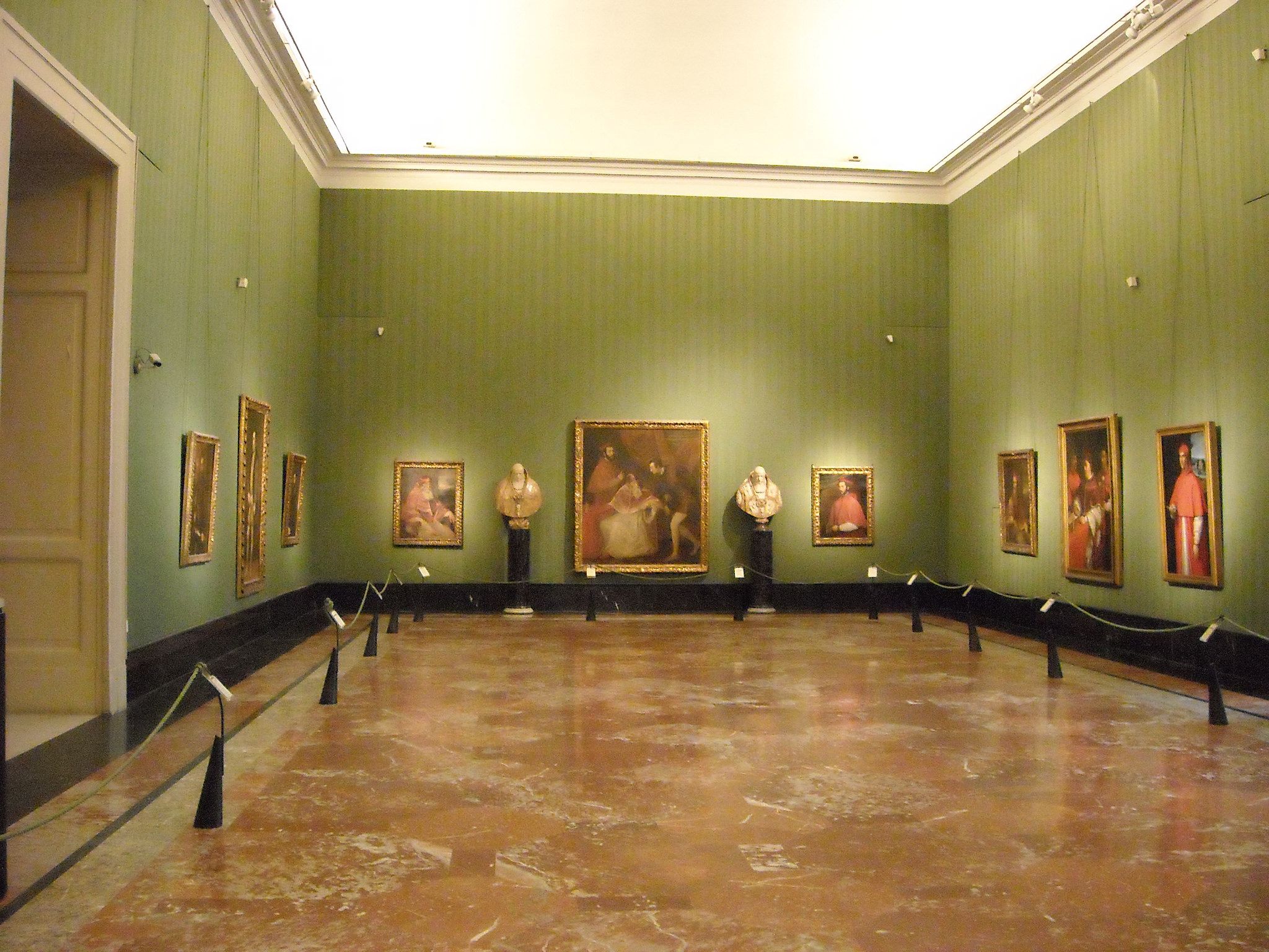 """Titian Hall at Capodimonte Museum in Naples"" by Carlo Raso"