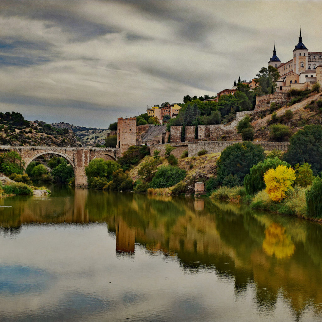 """View of Toledo and Alacantara Bridge"" photo by Jocelyn Erskine-Kellie (some rights reserved)"