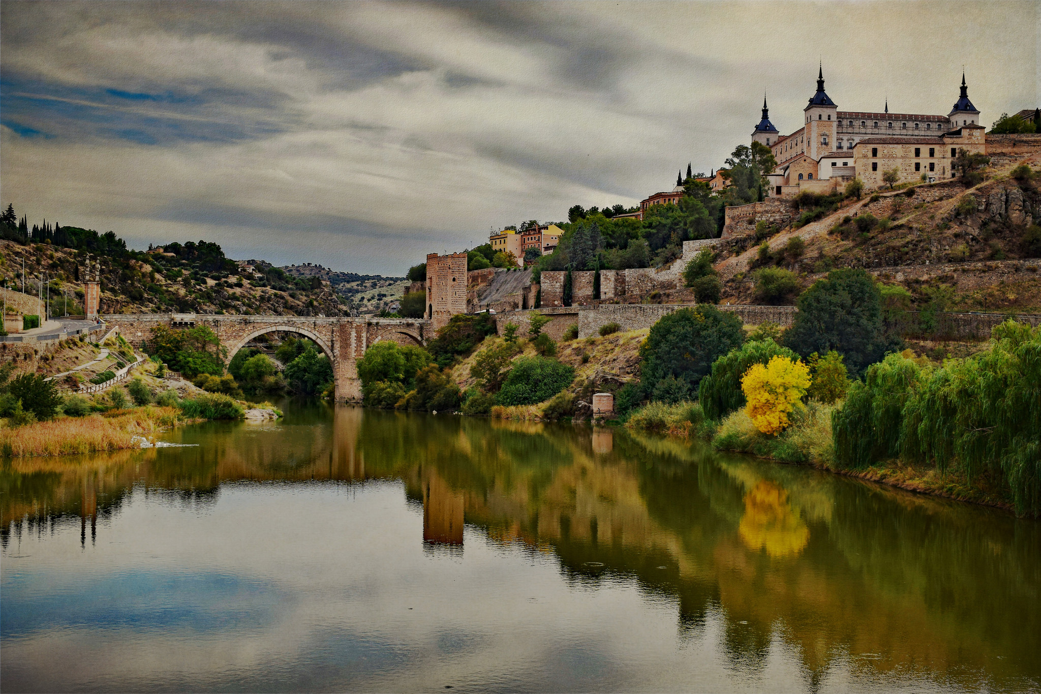 """""""View of Toledo and Alacantara Bridge"""" photo by Jocelyn Erskine-Kellie (some rights reserved)"""