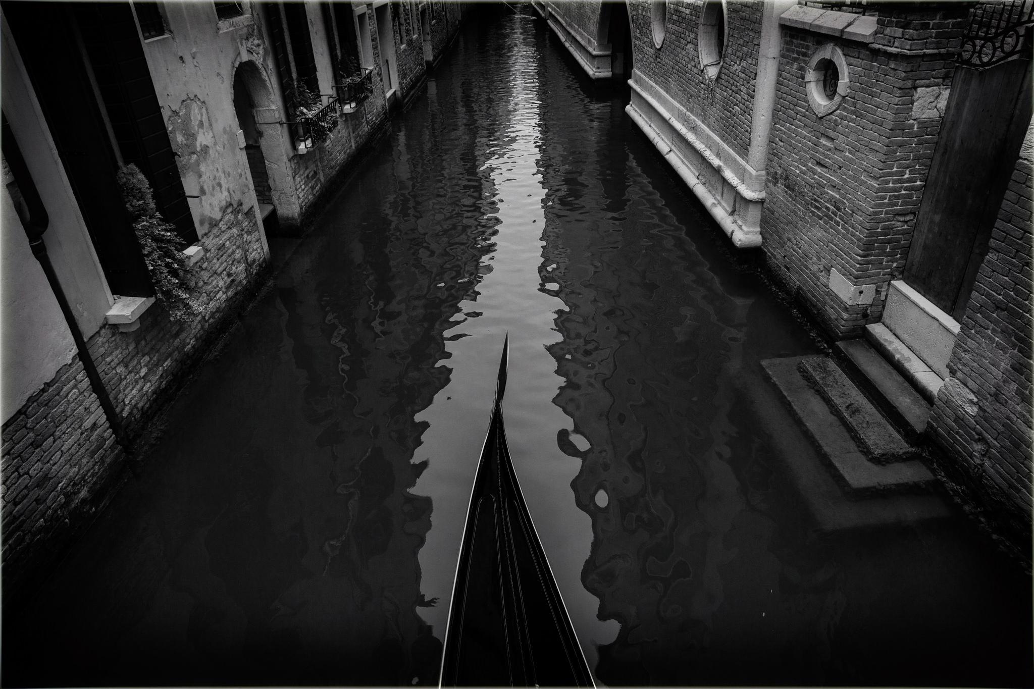 """""""Vita a Venezia"""" photo by August Brill"""