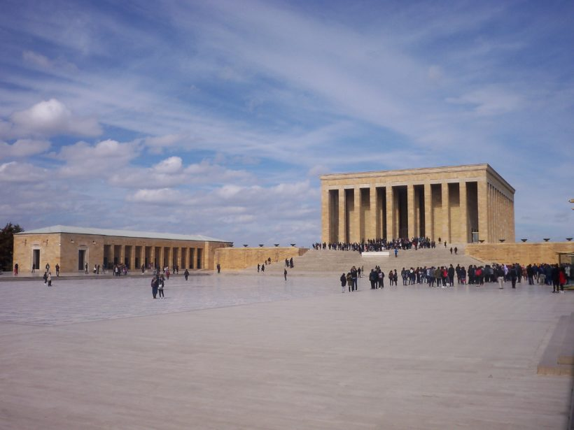 The Ataturk Mausoleum in Ankara photo by Caglar Oskay