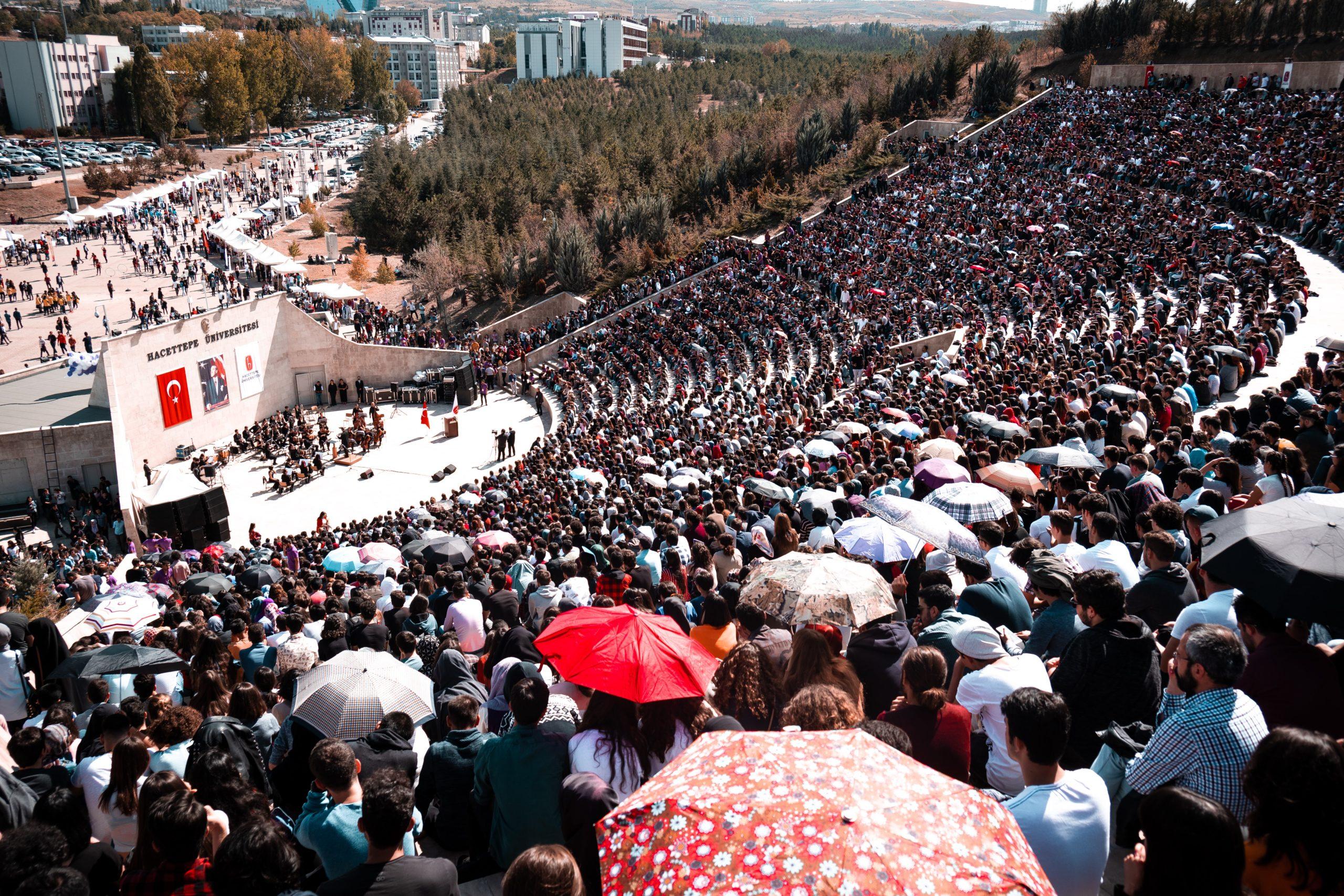 Amphitheater in Ankara by Deniz Gocmen