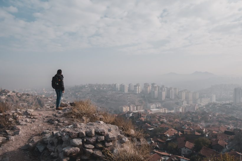 View of Ankara by Febiyan
