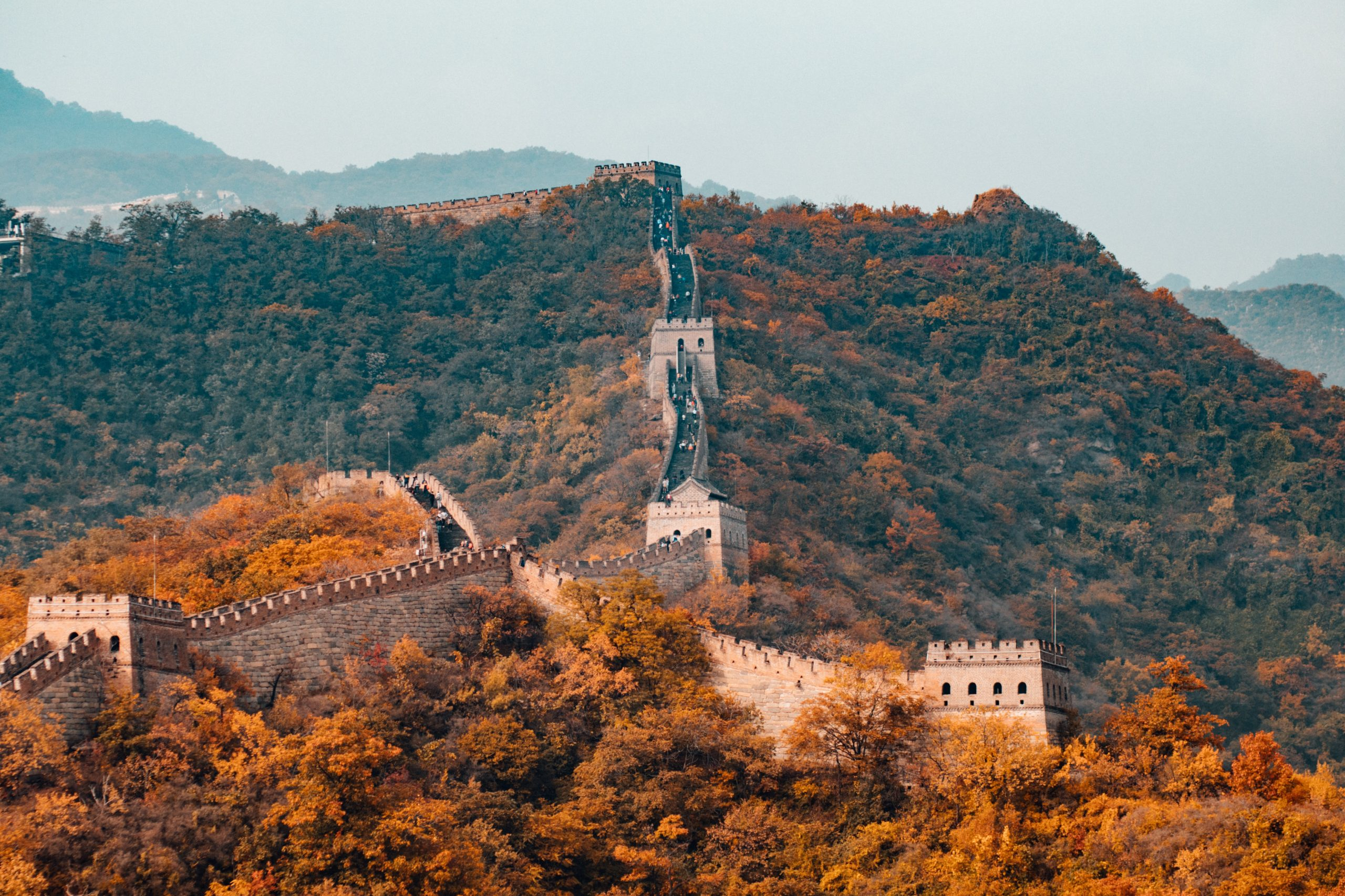 Great wall of China image by Hanson Lu