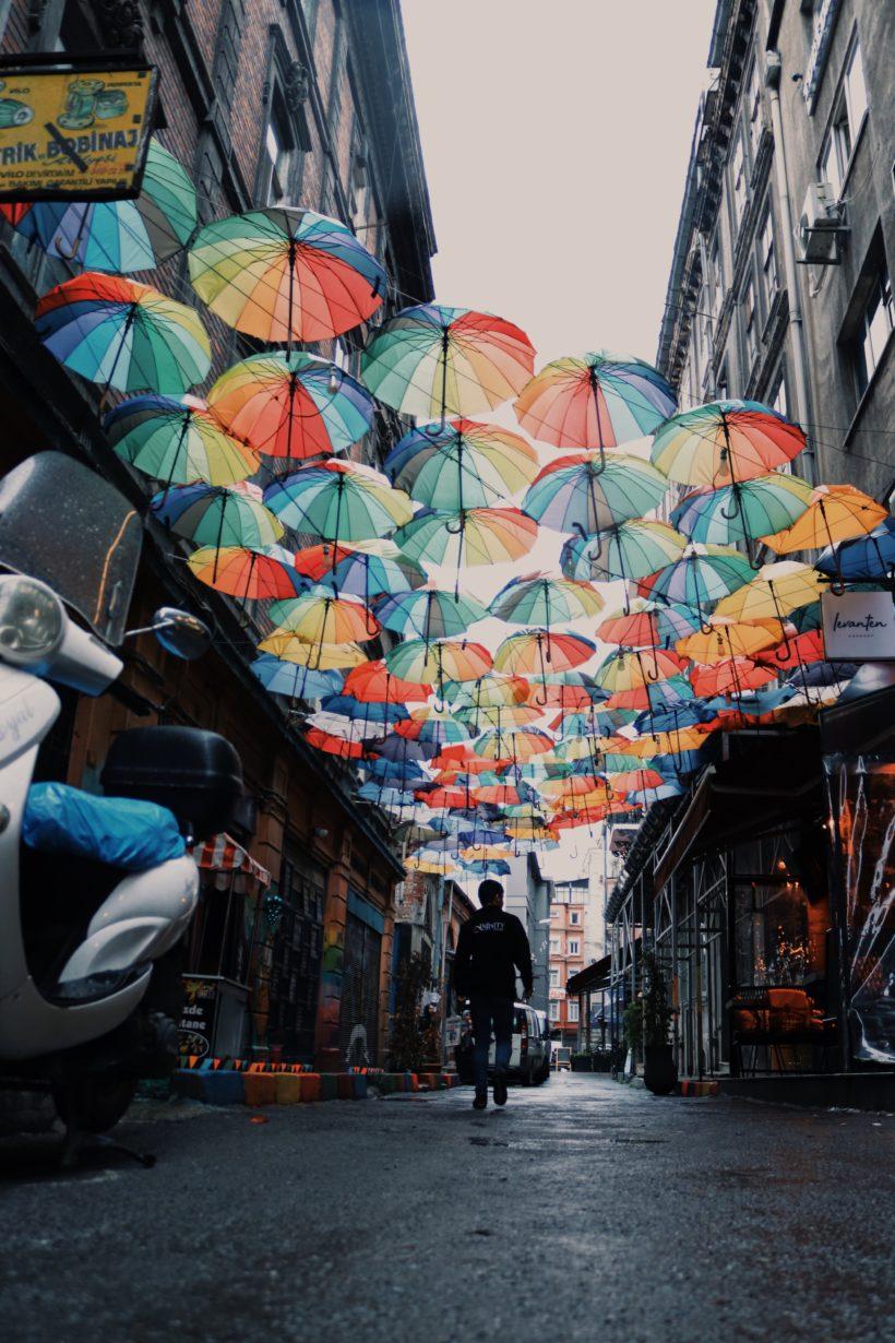 Street scene in Ankara by Nilay Sozbir