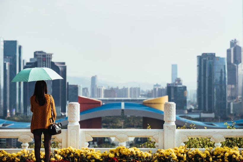 Shenzhen view by Robert Bye