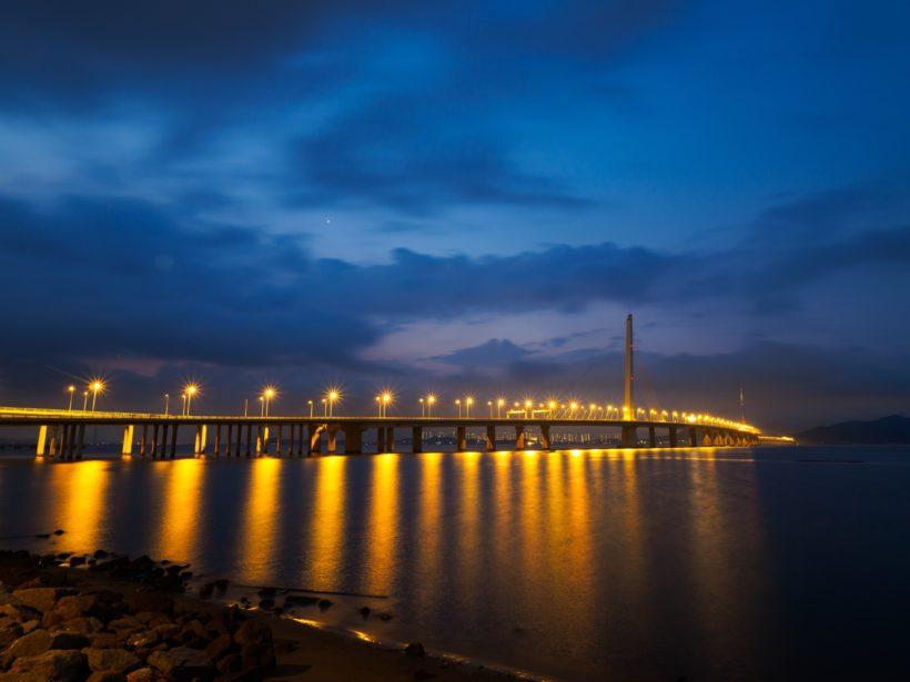 Bridge in Shenzhen by Xuqing Jia